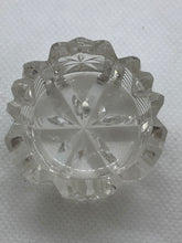 Load image into Gallery viewer, Salt Cellars, unknown maker, Cut glass. Pair of salt cellars