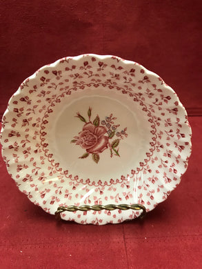 Johnson Bros. Rose Bouquet, Vintage, Soup Bowls
