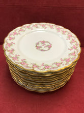 "Load image into Gallery viewer, Limoges, Elite Works.  ""Bridal Wreath"".  Dinner Plates"
