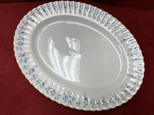 Royal Albert, Memory Lane, Serving Platter,   Forget-Me-Nots