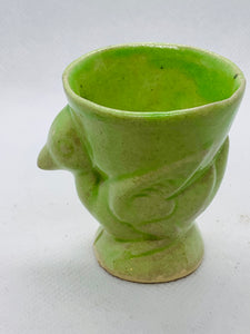 Egg Cup. Japan.  Green Chick