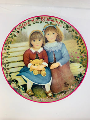 Collector Plate-  Chantal Poulin-  Kindred Moments Collection.