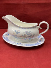 Load image into Gallery viewer, Royal Albert, England. New Romance- Songbird, Gravy Boat with Under Plate