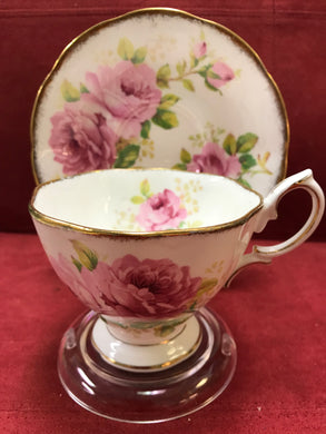 Royal Albert, England. Cup and Saucer. American Beauty