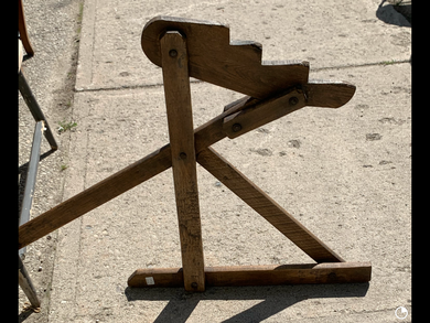 Antique-Wooden- Buggy Jack.   IN STORE PICK UP ONLY.