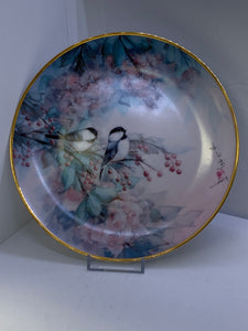 Collector Plate.  Song of the Cherry Blossom.  J Chang 1992