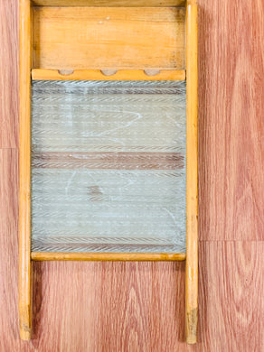 Tools. Wash Board- Wooden with Glass Board  12