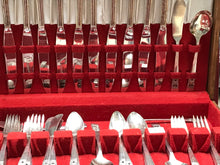 Load image into Gallery viewer, Flatware, 66pcs, Oneida-Community-  Coronation---  Service for 6 (plus extras)