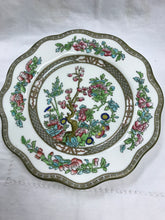 "Load image into Gallery viewer, Indian Tree, Multi Coloured - 8-3/4"".   Plate, Antique"