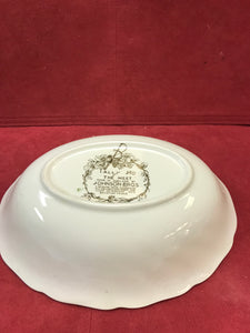 "Johnson Brothers, Tally Ho, Oval Vegetable Dish, ""The Meet:"