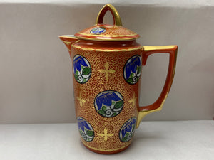 Schlaggenwald, Germany.  Coffee Pot- Tea Pot-  Deco- Blue Flowers