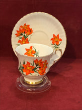 Load image into Gallery viewer, Royal Windsor, England, Cup and Saucer. Prarie Lily