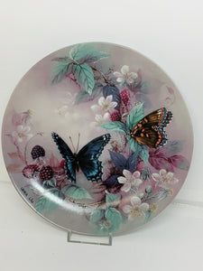 Collector Plate- Lena Liu- On Gossamer Wings-  # 3.  Butterflies