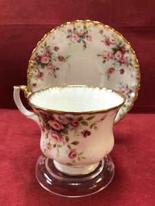 Royal Albert, England. Cup and Saucer. Cottage Garden