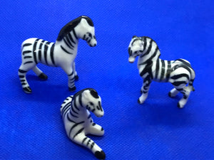 Japan, Set of 3 Zebra