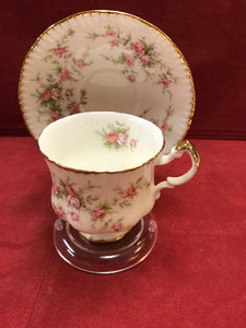 Paragon, Cup and Saucer, Victoriana Rose