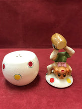 Load image into Gallery viewer, Salt and Pepper, Circus Monkey, Shafford Pottery, Japan