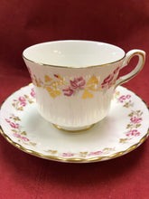 Load image into Gallery viewer, Royal Stafford, England. Cup and Saucer. Small Pink Roses