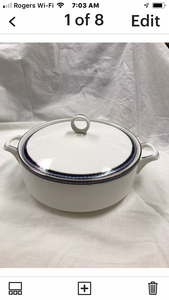 Firenze, Avalon, by Royal Worcester, England, Covered Vegetable Dish