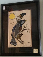Load image into Gallery viewer, Original ,  Woodland Style,  signed, by Doug Kakekagumick