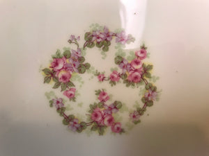 "Limoges, Bridal Wreath, Serving Platter 16-1/2"" x 11"""