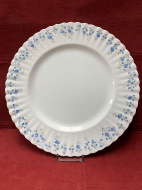 Royal Albert, Memory Lane, Dinner Plates,   Forget-Me-Nots