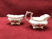 Load image into Gallery viewer, Hammersley, England, Creamer and Open Sugar Bowl. 4487
