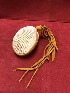 Rattle, Indigenous, 1st Nations, Clam shell Rattle