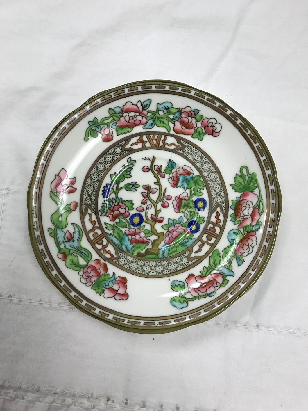 Coalport. England. Indian Tree, Flat Saucer-5-3/4""