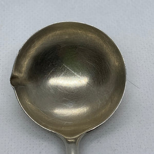 Ladles, Sterling Silver.  Small sauce/gravy ladle