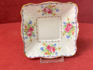 Royal Albert, Petit Point, Small Square Dish