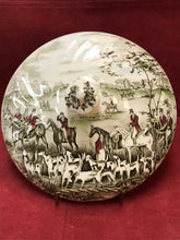 "Load image into Gallery viewer, Johnson Brothers, Tally Ho, Lid for Covered Vegetable Dish,  ""The Meet"""