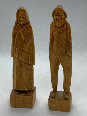 Wood Carving.  From the Gaspe Peninsula, Quebec