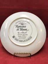 Load image into Gallery viewer, Romance in Bloom  by Gloria Vanderbilt. Collector Plate