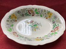 "Load image into Gallery viewer, Royal Doulton, England. Oval Serving Bowl.  ""Stratford. D.6196"".  Floral."