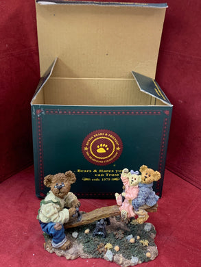 Boyds Bears and Friends. The Bearstone Collection. Just A Kid at Heart