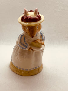 Royal Doulton Figurine, England.  Brambly Hedge Collection- Mrs.Apple