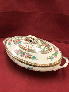 Aynsley, Indian Tree, Oval Veg Dish with Lid