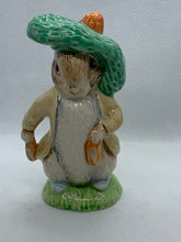 Load image into Gallery viewer, Figurine. Royal Albert. England. Beatrix Potter's.  Benjamin Bunny. 1989