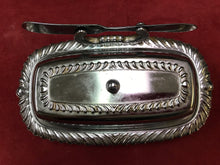 Load image into Gallery viewer, Butterdish, Rectangular, Chrome Finish, Irvin Ware, USA, Vintage