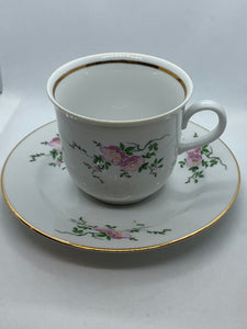 Henneberg, GDR. Dinnerware. Pattern HEP31 . Cup and Saucer