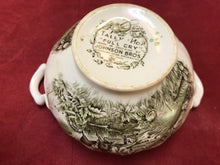 "Load image into Gallery viewer, Johnson Brothers, Tally Ho, Open Sugar Bowl, """"Full Cry"""