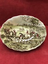 "Load image into Gallery viewer, Johnson Brothers, Tally Ho, Oval Vegetable Dish, ""The Meet:"