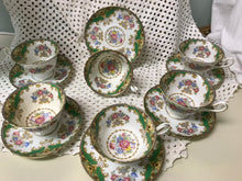 Load image into Gallery viewer, Shelley.  England.  Sheraton 13209.  Tea Service for 6