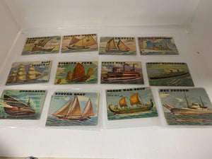 Trading Cards. Topps Rails and Sails  ( Sails ).
