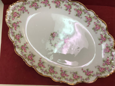 Limoges, Bridal Wreath, Serving Platter 16-1/2