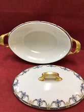 Load image into Gallery viewer, Limoges, Jean Pouyat, Covered Oval Veg.Dish