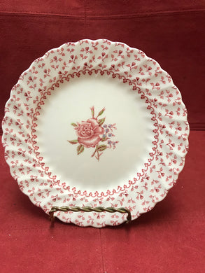 Johnson Brothers, Rose Bouquet, Vintage, Luncheon Plates