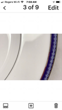 Load image into Gallery viewer, Royal Worcester. England. Firenze, Avalon. Cream soup Bowls with Underplates (set of 4)