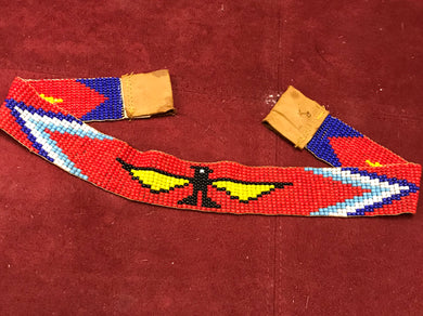 Beadwork, Indigenous, Headband, Thunderbird, West Coast
